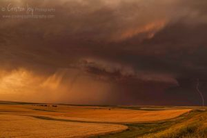 Wheat Fields & Storms {July Heat}