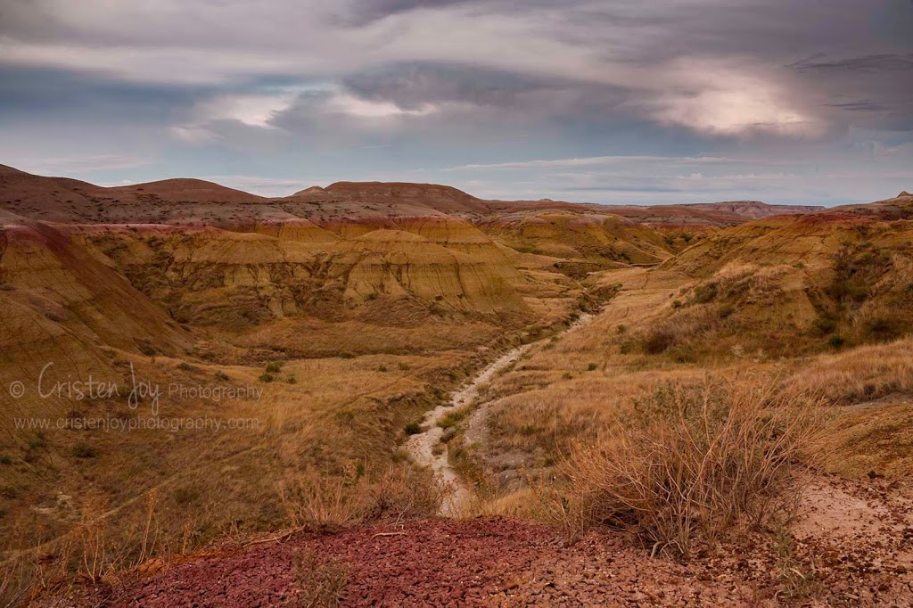 Badlands {Trekking through the Yellow Mounds}