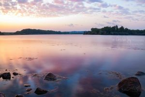 Sunset Colors on the Missouri {Yankton}
