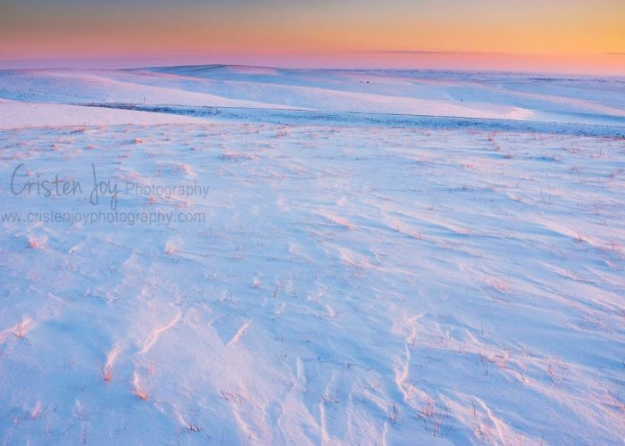 Snowy Landscape {Spring is Coming!}