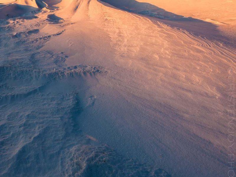 Snow Dunes Custom Print