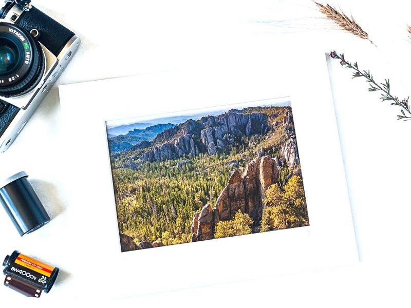 Black Hills 5×7 Matted Print