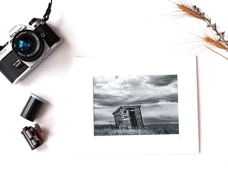 Room With a View 5×7 Matted Print