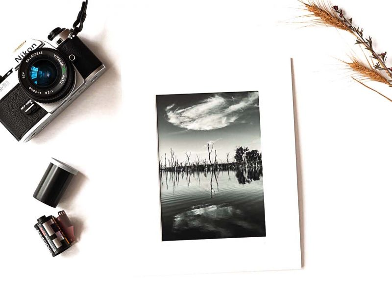 Mirror 5×7 Matted Print
