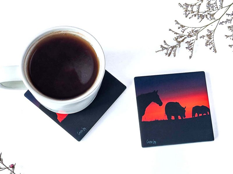 Into the Sunset Coasters