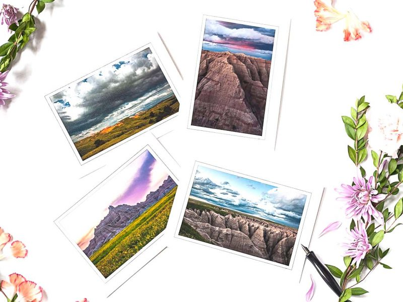 Badlands Notecard Collection