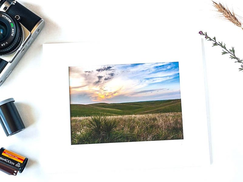 Fire in the Sky 5×7 Matted Print