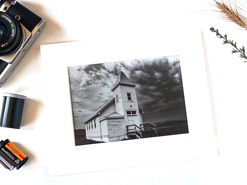 Firm Foundation 5×7 Matted Print