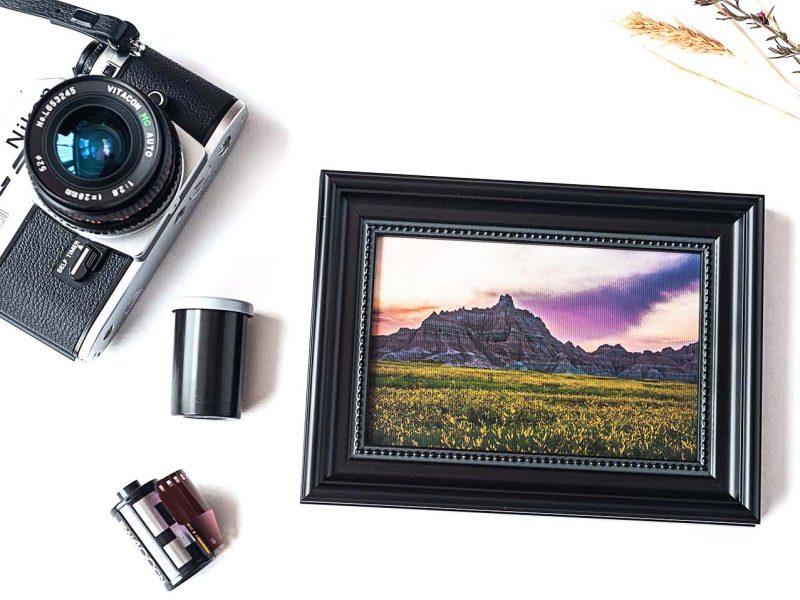 Majestic Framed Mini Canvas Print