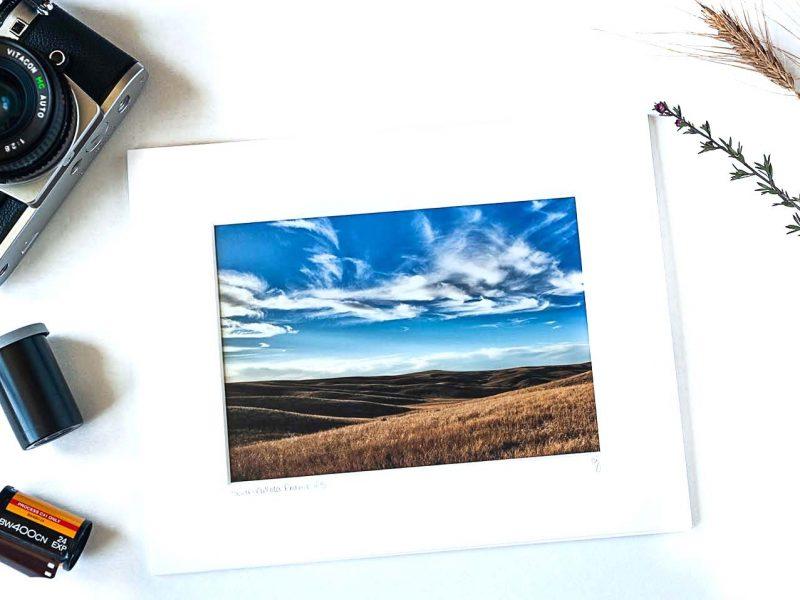 South Dakota Prairie 5×7 Matted Print