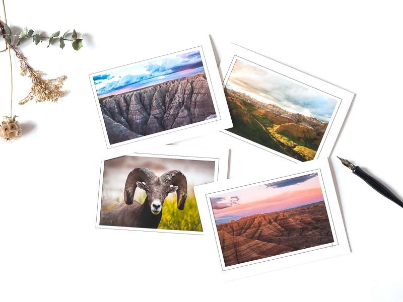 Badlands #2 Notecard Collection