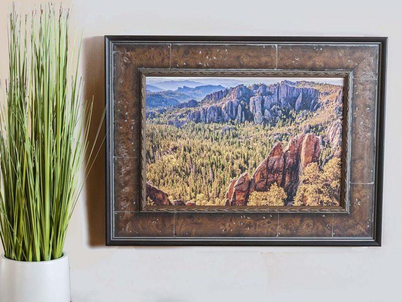 Black Hills 10×15 Framed Giclee Canvas Print