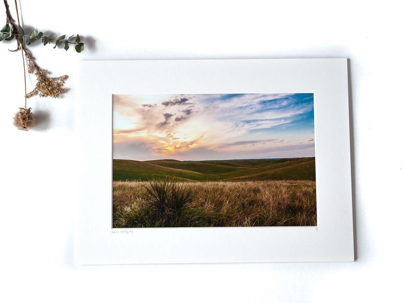 Fire in the Sky 8×12 Matted Print