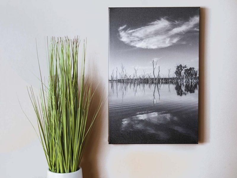 Mirror 12×18 Giclee Canvas Gallery Wrap