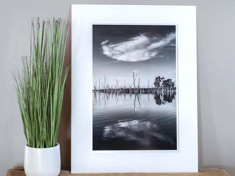 Mirror 12×18 Matted Print