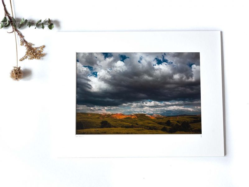 Open Spaces 8×12 Matted Print