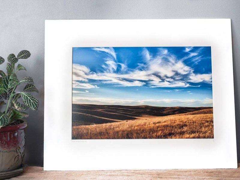 South Dakota Prairie 10×15 Matted Print