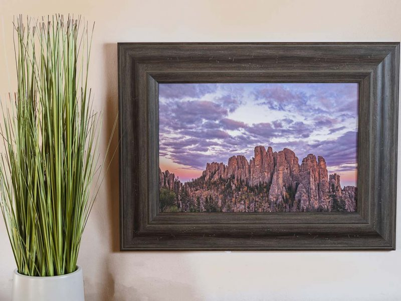 The Cathedral 10×15 Framed Giclee Canvas Print