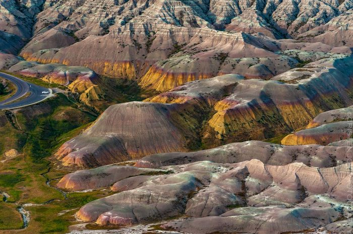 Yellow Mounds from Above © Cristen J. Roghair http://cristenjoyphotography.com