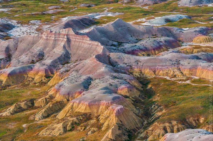 Badlands Color Palette © Cristen J. Roghair http://cristenjoyphotography.com