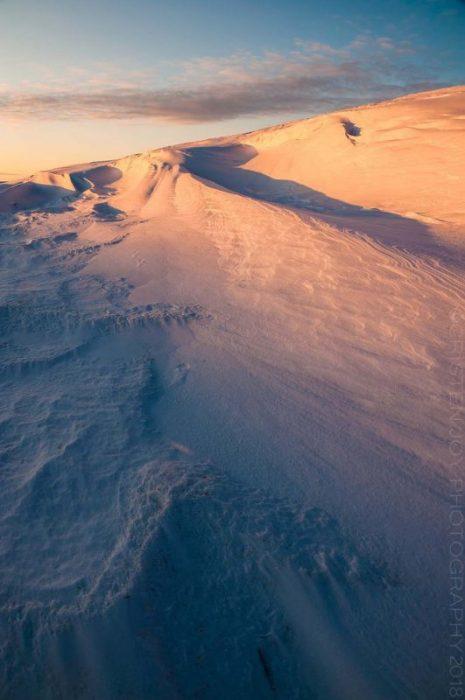 Snow Dunes © Cristen J. Roghair http://cristenjoyphotography.com