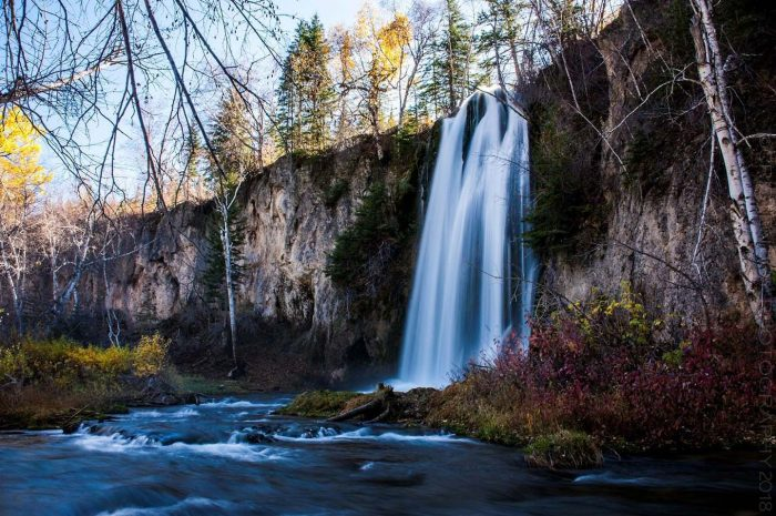 Spearfish Falls © Cristen J. Roghair http://cristenjoyphotography.com